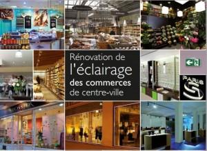 Guide rénovation éclairage commerces