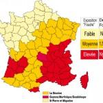 SyndEclairage image carte de France zones kerauniques