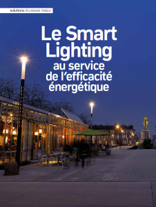 Visuel Couv dossier smart lighting fevrier 2017