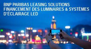 BNP Paribas leasing solutions financement eclairage