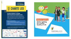 Aperçu de la CharteLED du Syndicat de l'éclairage et de la campagne BetterLighting de LightingEurope